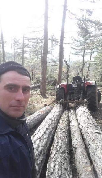 Üzerine Tomruk Düşmesiyle Yaralandı, Ambulans Helikopterle Sevk Edildi