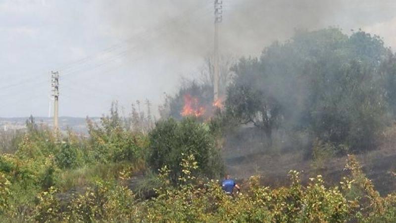 Mahallede Yangın Paniği