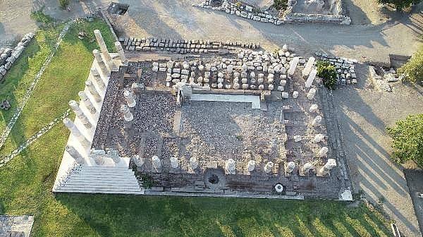 Apollon Smintheus Tapınağı'nda Bizans hazinesi Bulundu