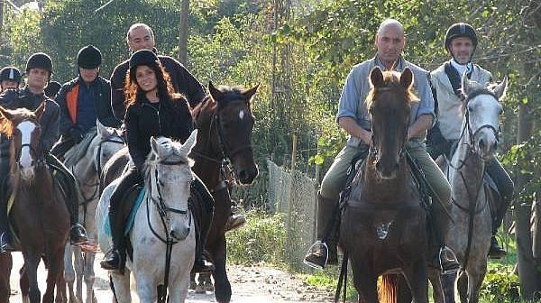 Atlarla Yaşıyor, Atların Renkli Yaşamlarını Yazıyor