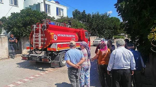 Ayvacık'ta Ev Yangını: 1'i ağır 2 Kardeş Yaralı