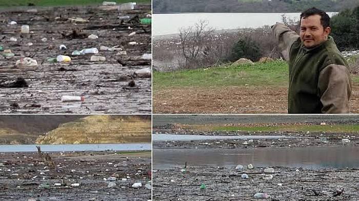 Bayramiç Barajı'nı Zehirli Zirai İlaç Atıkları Tehdit Ediyor