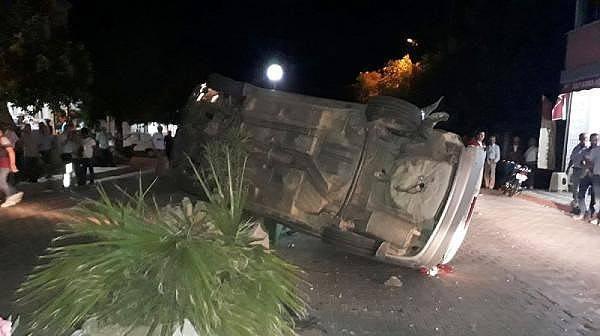 Bayramiç'te İki Otomobil Çarpıştı: 1 Yaralı