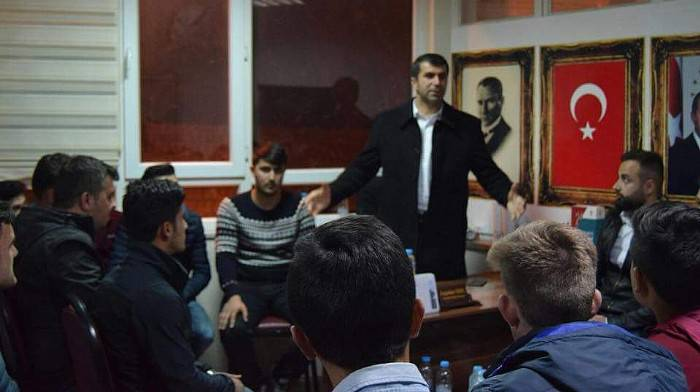 Başkan Arslan, Gençlerle Buluştu
