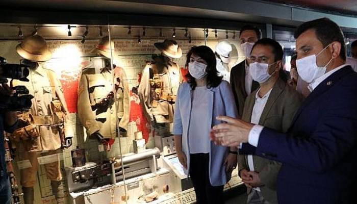 Çanakkale Savaşları Mobil Müzesi, 22-30 Temmuz Tarihlerinde İstanbul'da