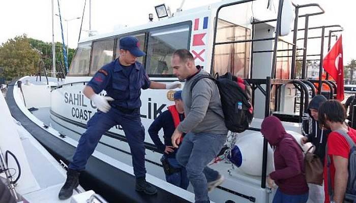 Yunan İnsan Taciri, Türk Sahil Güvenlik Ekiplerinden Kaçamadı