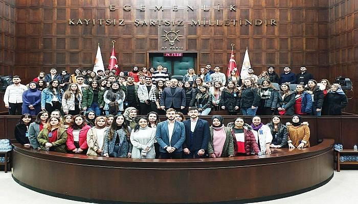 Biga Kızılay Gönüllüleri Mecliste