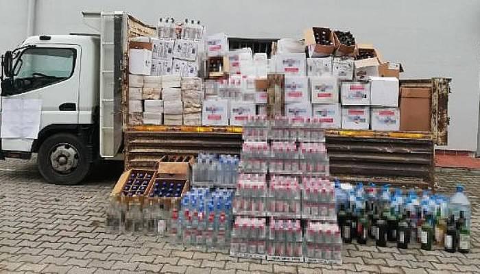Çanakkale'de Kaçak ve Sahte İçki Operasyonu: 5 Gözaltı