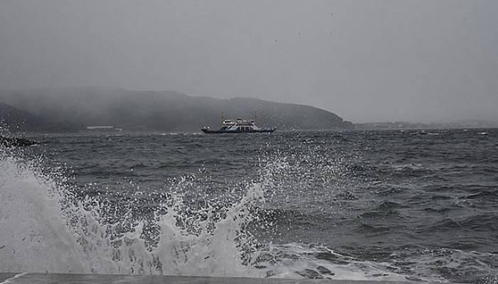 Fırtına Konteynerleri Denize Uçurdu