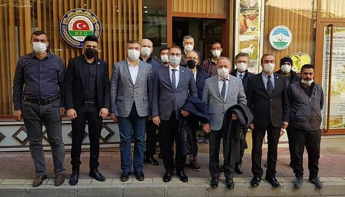 İYİ Parti'den Bayramiç Ziraat Odası'na Ziyaret