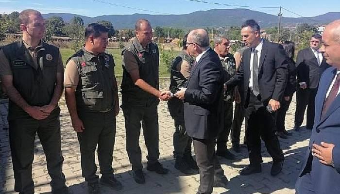 Orman Bölge Müdürü Demirci, Kalkım'da Personel İle Bir Araya Geldi