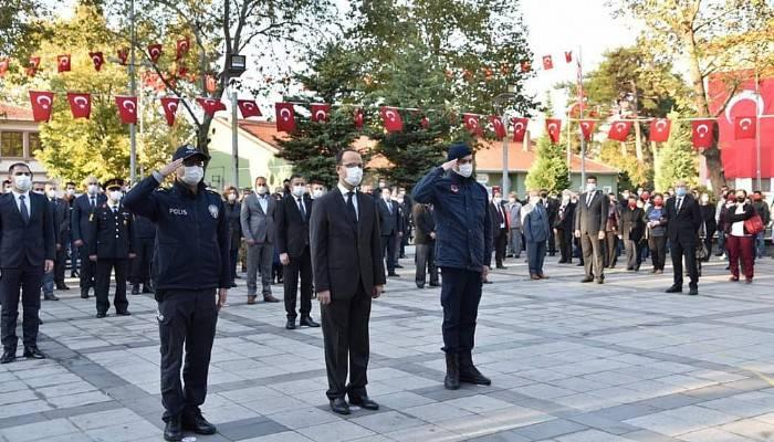 Bayramiç'te Atatürk Anıldı
