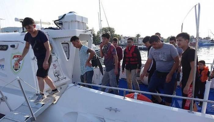 Ayvacık'ta 26 Kaçak Göçmen Yakalandı