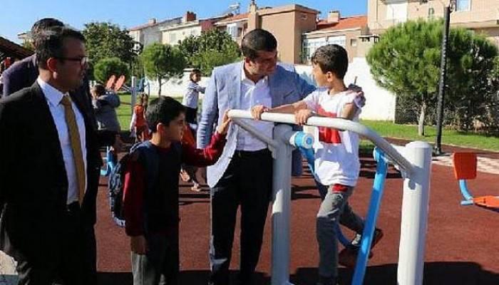 Bayramiç'in En Büyük Parkı Açıldı