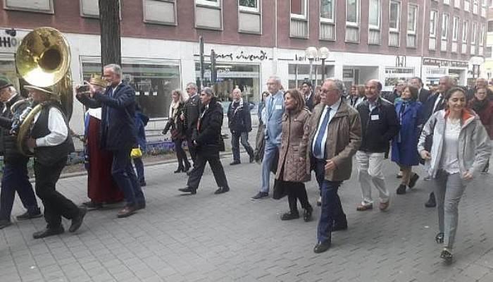 Başkan Gökhan, Osnabrück'te Mayıs Haftası Etkinliklerine Katıldı