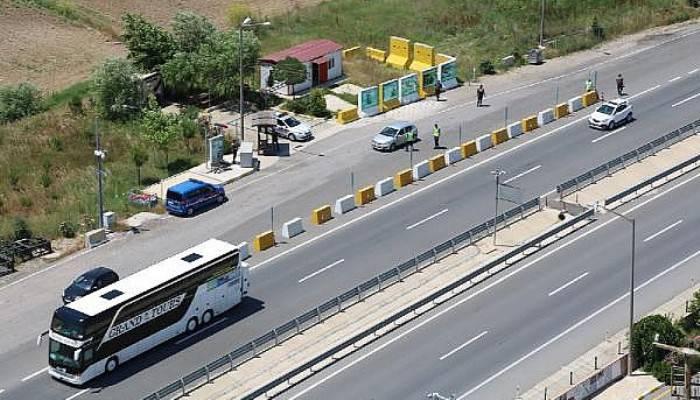 Çanakkale'de Havadan Trafik Denetimi
