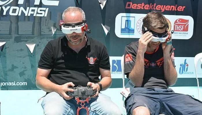 Türkiye Drone Şampiyonası'nın Assos Etabı Tamamlandı