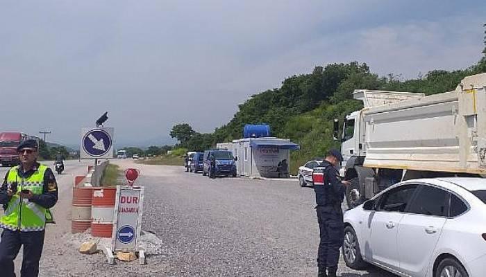 Çanakkale'de Jandarmadan Havadan Trafik Denetimi