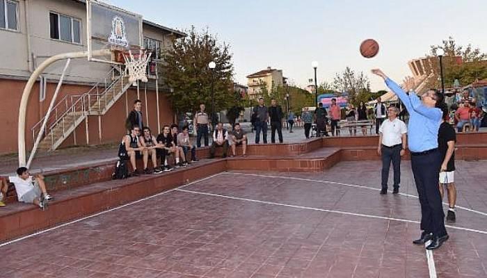 Çan Belediyesi, Sokak Basketbolu Turnuvası Düzenledi