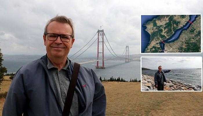 Çanakkale Boğazı'na,2 Bin 500 Yıl Önce deSavaş İçin Köprü Yapılmış