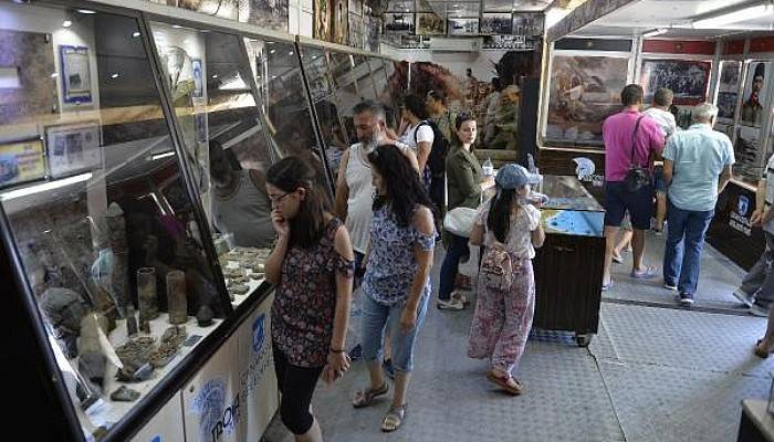 Çanakkale Destanları Müzesi Gezici TIR'ına Yoğun İlgi