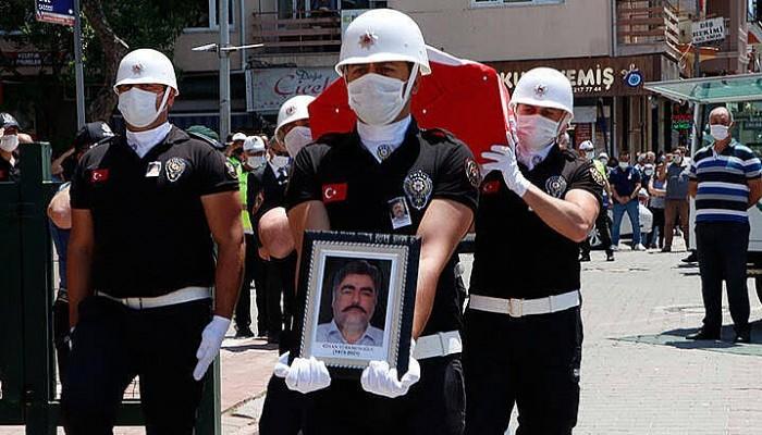 Çanakkale'de Trafik Kazasında Şehit Olan Polis Memuru İçin Tören