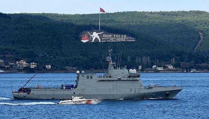 NATO Savaş Gemileri, 'Nusret-2021 Davet Tatbikatı' İçin Çanakkale'de