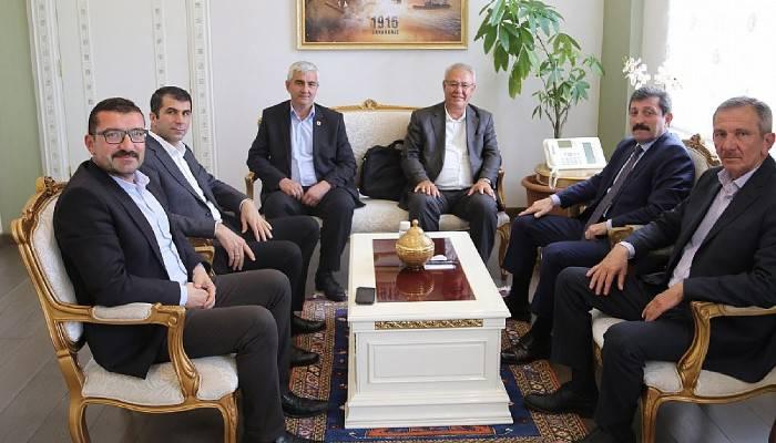 AK Parti Bayramiç Heyeti Vali Tavlı'yı Ziyaret Etti