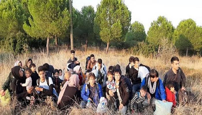 Çanakkale'de 1 Haftada 818 Kaçak Göçmen Yakalandı