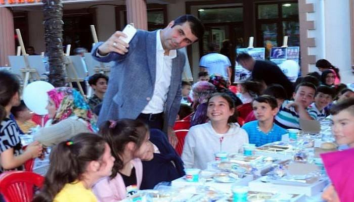 Bayramiç Belediyesi'nden Çocuklara Özel İftar