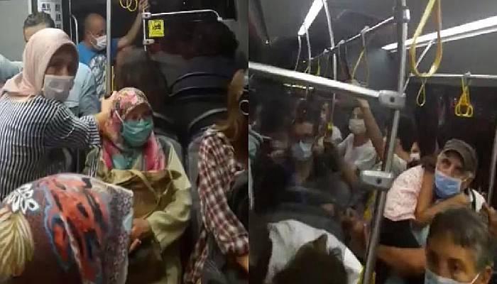 Çanakkale'de, Halk Otobüsünde 'Kapasite Aşımı' İddiasıyla Tepki
