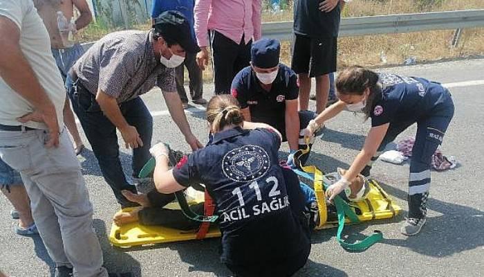 Jipin Çarptığı ATV Sürücüsü Yaralandı