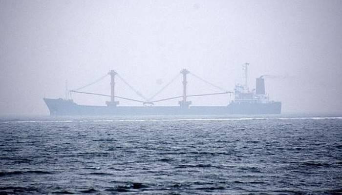 Çanakkale Boğazı'nda Yangın Çıkıp, Sürüklenen Gemi Demir Attı