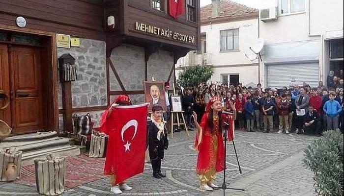 Mehmet Akif Ersoy, Bayramiç'teki Evinde Anıldı