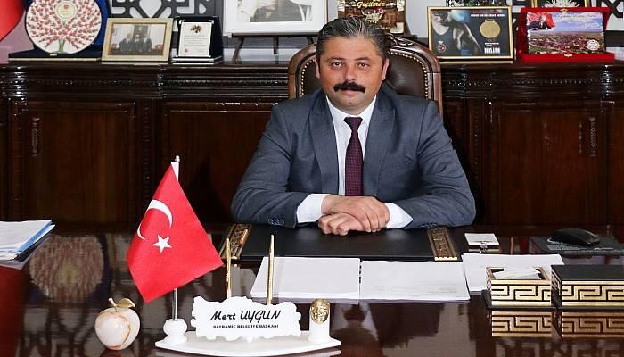 Başkan Uygun'dan 23 Nisan Mesajı