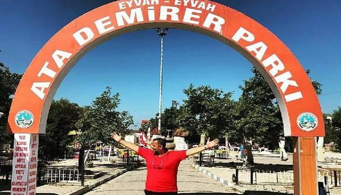 Ata Demirer'den Adının Yeniden Verildiği Park İçin Teşekkür