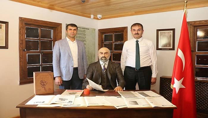 Milli Parklardan Başkan Arslan'a Ziyaret