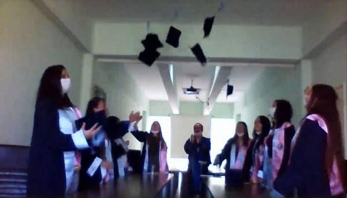 ÇOMÜ'de 'Online' Mezuniyet