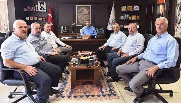 Başkan Öz, STK Temsilcileri ve Mahalle Muhtarları İle Bir Araya Geldi