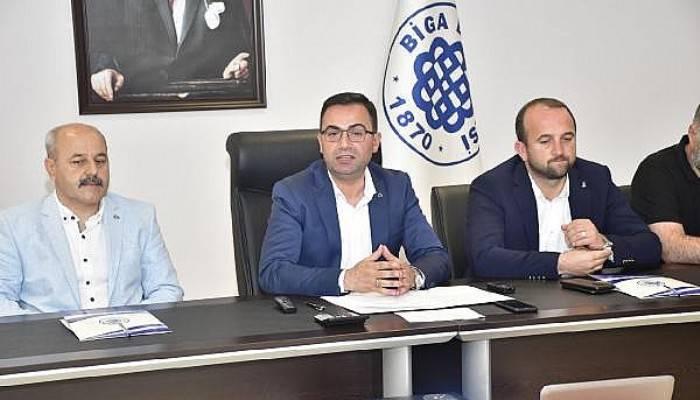 Başkan Erdoğan, Biga Belediyesi'nin Resmi Borcunu Açıkladı