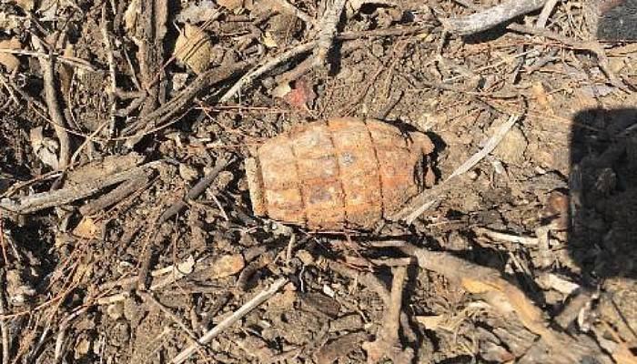 Çanakkale Savaşları'ndan Kalma Patlamamış El Bombası İmha Edildi