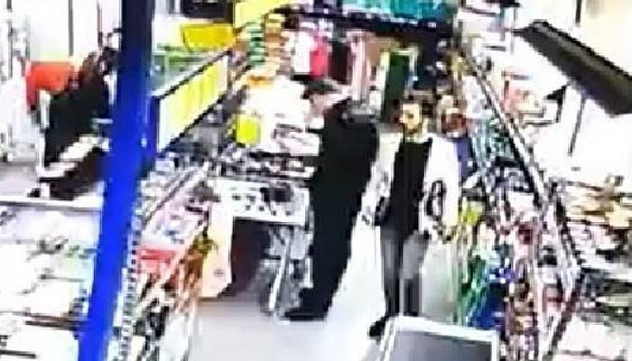 Kameradaki Silahlı Market Soyguncusu Yakalandı