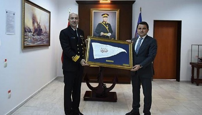 Alan Başkanı Kaşdemir, Boğaz Komutanı Ecevit'i Ziyaret Etti