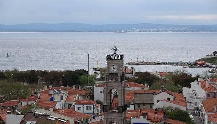 Bozcaada'da 151 Yıllık Kilisenin Çan KulesiRestore Edildi