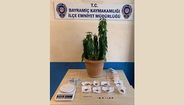 Bayramiç'te Uyuşturucu Operasyonu