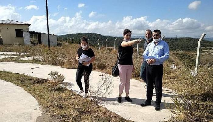 Başkan Öz, Sıtkı Turan Parkı'ndaki Yenileme Çalışmalarını İnceledi