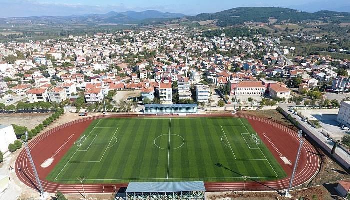 Bayramiç Atatürk Stadyumu Şimdi Çok Daha Modern