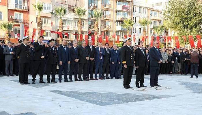 Çanakkale'de Atatürk Anıldı