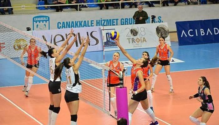 Çanakkale Belediyespor - VakıfBank: 0-3