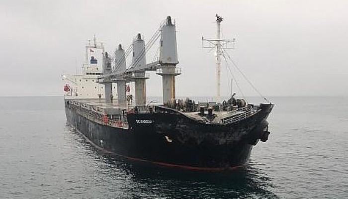 Marmara Denizi'nde İki Gemi Çarpıştı